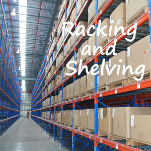 Racking, Shelving and Pallet Racking